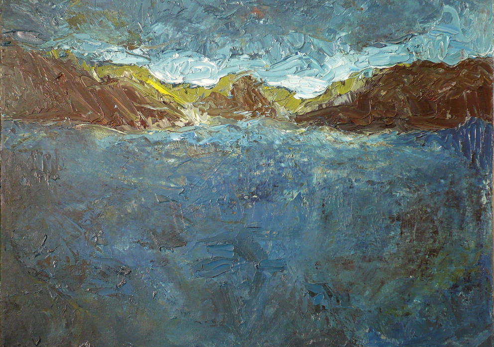 Cornish Sea, 2005, Oil on canvas, 61 x 46cm