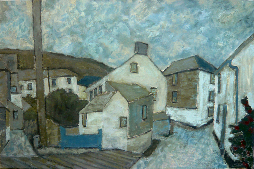 Port Isaac, 2009, Oil on canvas, 76 x 50cm