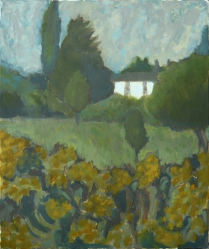 House on Wortham Ling, 2005, Oil on canvas, 61 x 76cm