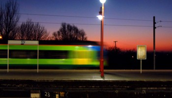 Daybreak at Ely Station